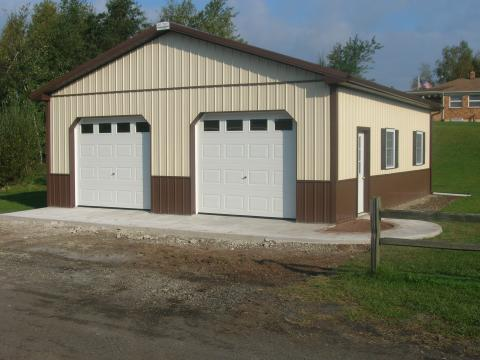 Pricing timberline buildings hegins pa for 24x36 garage cost