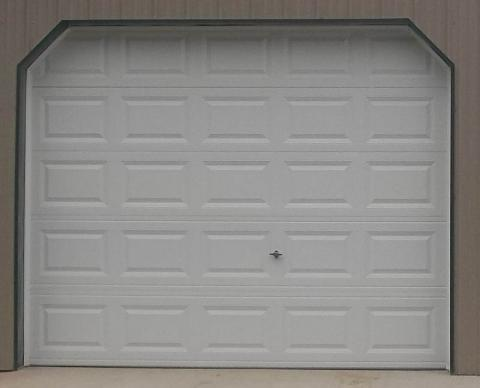 Typical Raised Panel garage door