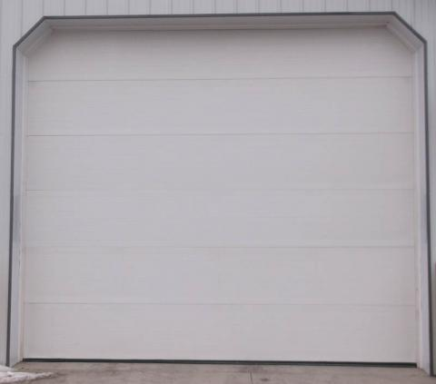 Flush Panel garage door