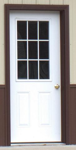 "36"" 9-lite Entry Door"