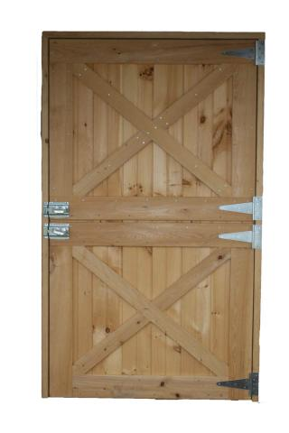 Typical Wooden Dutch Door