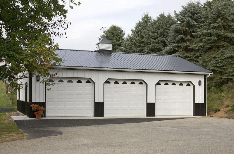 Residential pole buildings in hegins pa timberline for 24x40 garage