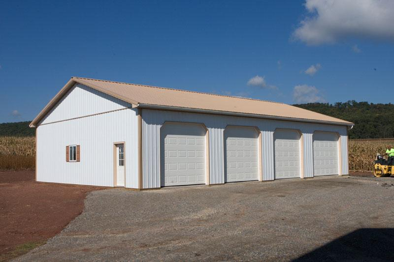Agricultural pole buildings in hegins pa timberline for 50 x 60 garage plans