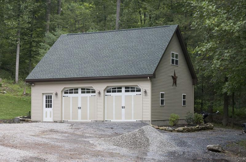 Custom pole buildings in hegins pa timberline buildings for 30x30 pole building