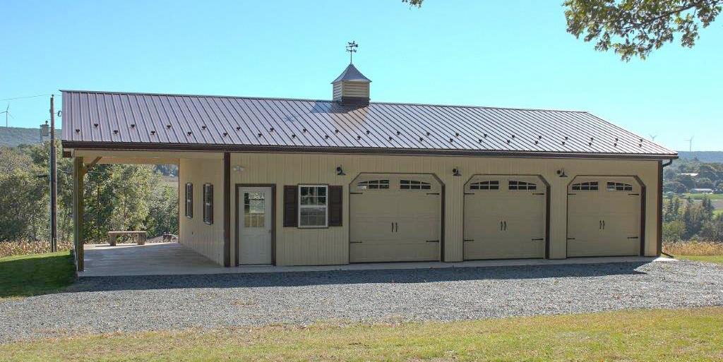 Residential Pole Buildings In Hegins Pa Timberline