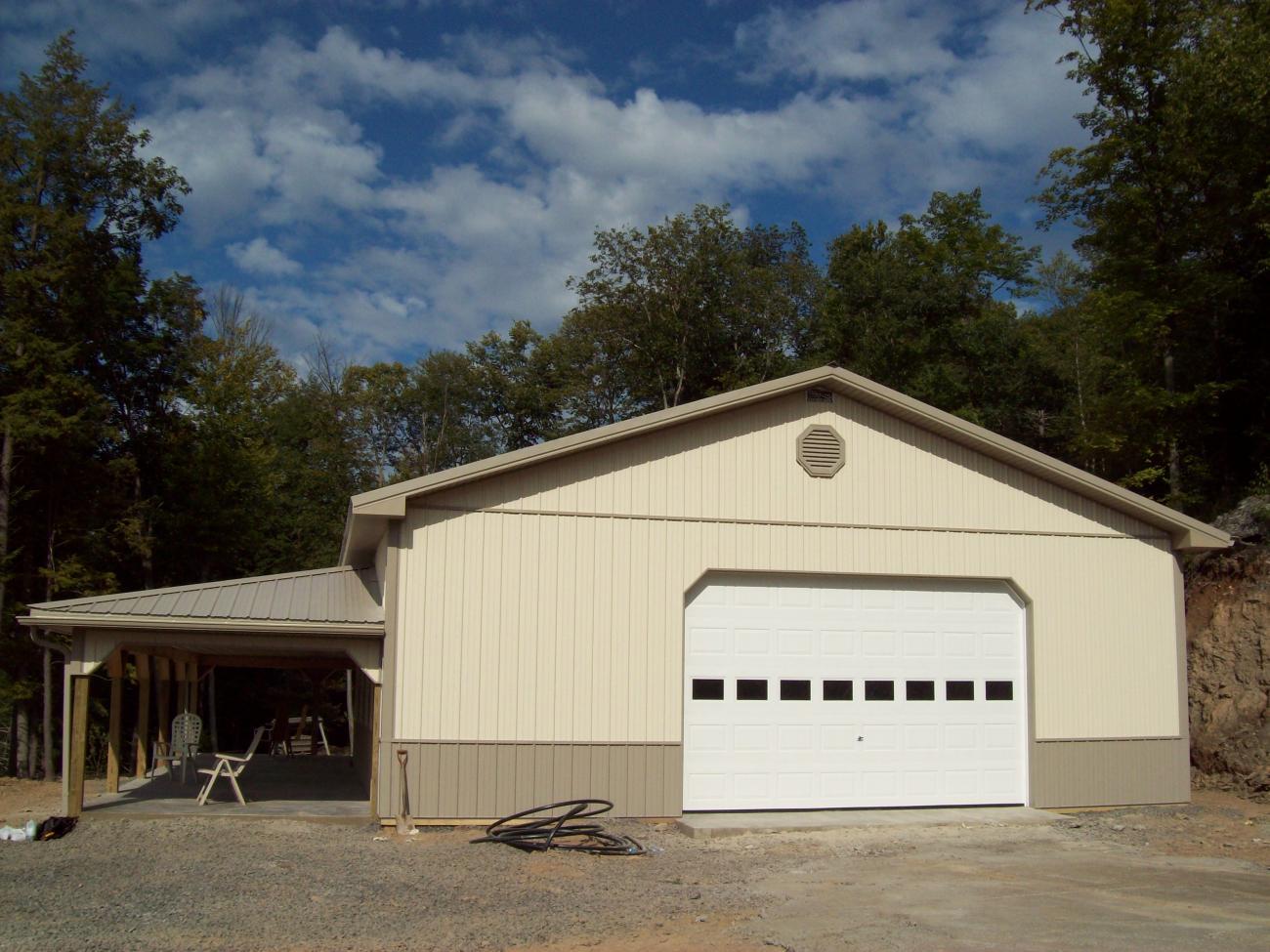 Pole Barn Garages   Timberline Buildings