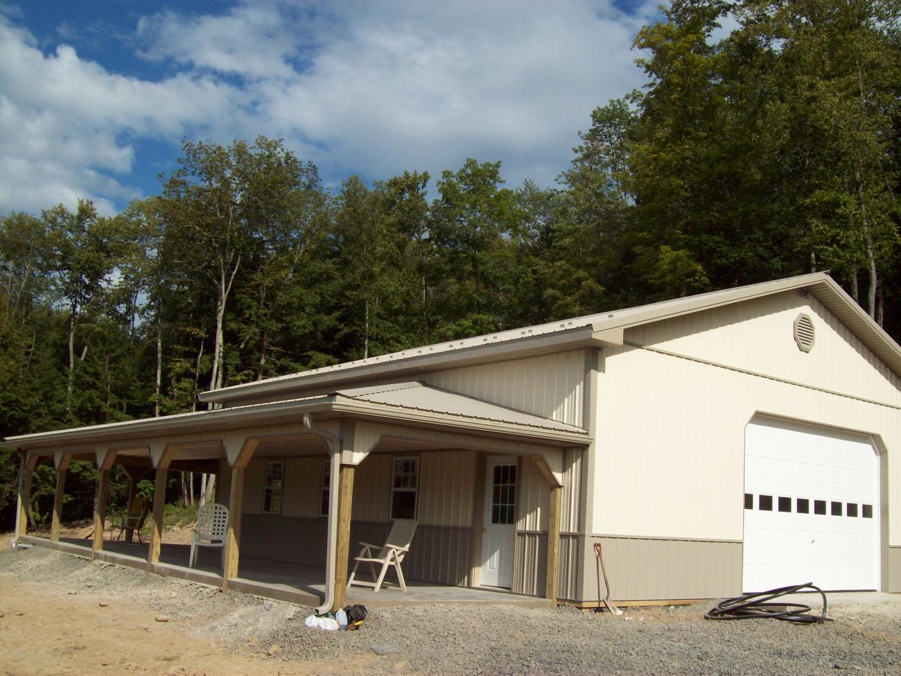 Pole Barn Garages | Timberline Buildings