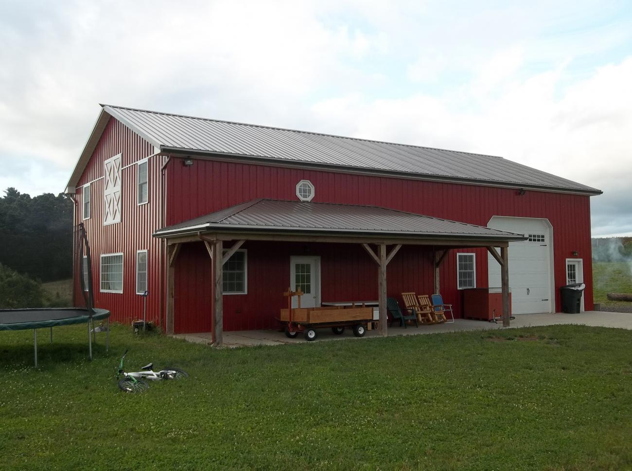 Residential timberline buildings for Residential pole barn