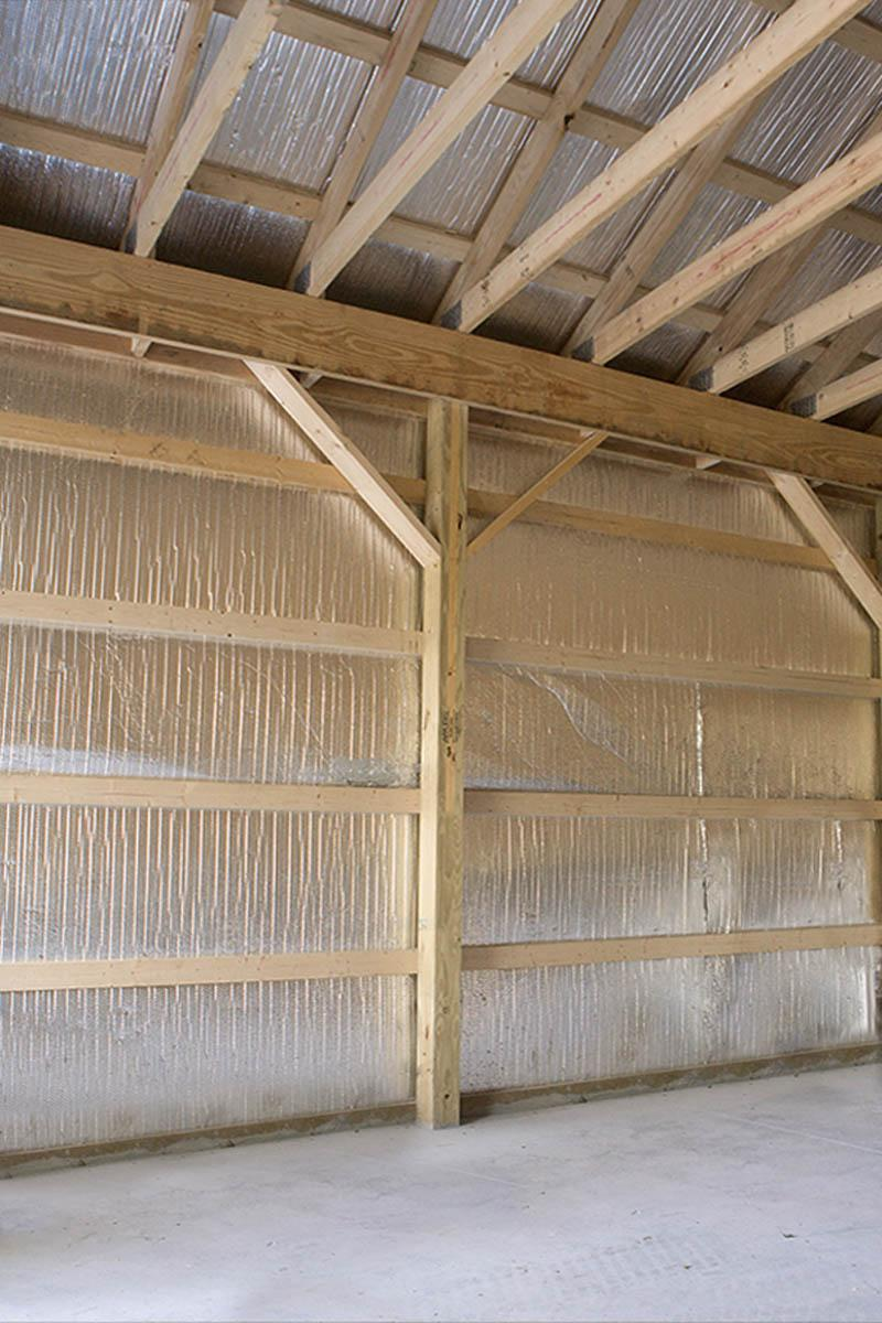 Optional Pole Barn Features Timberline Buildings Hegins Pa