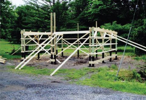 pole building stage 2 example
