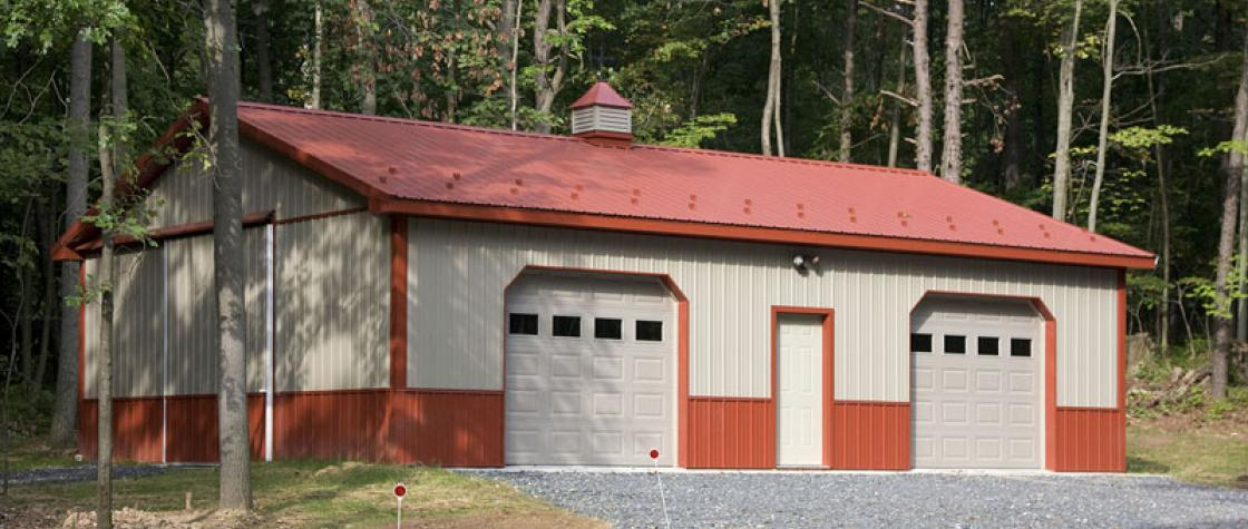 Residential Pole Buildings in Hegins, PA | Timberline Buildings