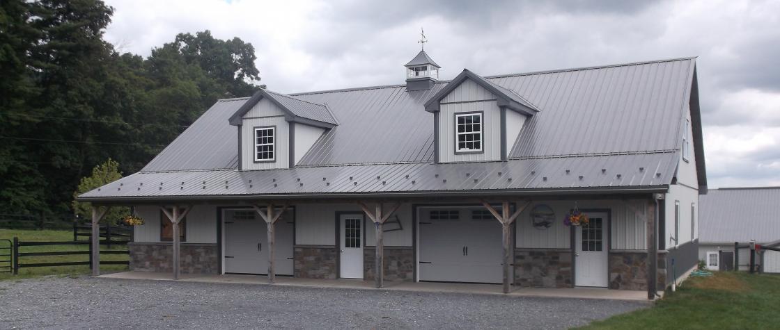 Custom Pole Buildings In Hegins Pa Timberline Buildings
